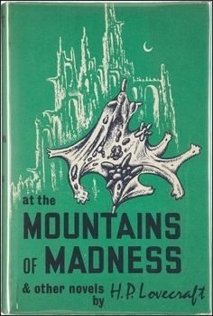 Lovecraft's At the Mountains of Madness and Other Tales of Terror contains one novella, originally serialized, and three short horror stories. Lovecraft is both amazing and maddening—he is re… The Dunwich Horror, Fantasy Faction, Mountains Of Madness, Roman, Short Horror Stories, Favorite Book Quotes, Favorite Things, Hp Lovecraft, Horror Books