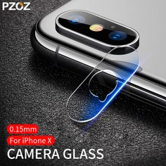 e3425ad991c Tempered Glass Camera Lens 0.15mm Film Protection Cover Back Protector PZOZ  for Apple iPhone X 10 Protective Glass