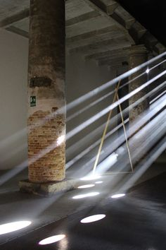 Transsolar crepuscular rays at the Venice Architecture Biennale 2016 /// More on Interiorator.com
