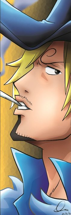 Sanji  | 15th Anniversary | by yifeicryst.deviantart.com on @DeviantArt