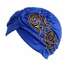 66e7b0b41b1 Brand New Embroidery Women Cancer Chemo Hat Beanie Scarf Turban Head Wrap  Cap Colorful beanie Hats for Cancer Chemo Patients