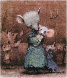 Kate Dicamillo. The Tale of Despereaux. Illustrator Igor Oleynikov, 2008. http://book-graphics.blogspot.ru/2012/04/tale-of-despereaux.html#more