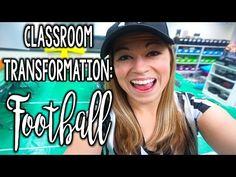 Classroom Transformation - Football Edition | That Teacher Life Ep 15 - YouTube