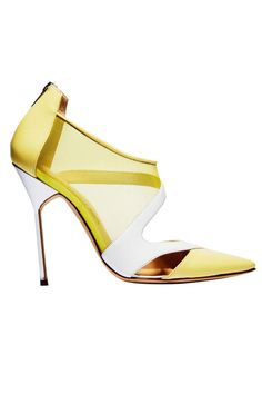 72ff986ebd2103 Spring's best and brightest yellow accessories. Talons Aiguilles, Chaussure  Classe, Bijoux Jaune,