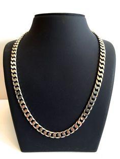 022af730d99 Online veilinghuis Catawiki: Zilveren ketting, gourmet schakel