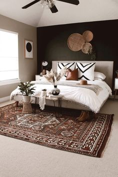 Home Interior Salas .Home Interior Salas Dream Bedroom, Home Bedroom, Black Master Bedroom, Black Bedroom Walls, Modern Boho Master Bedroom, White And Brown Bedroom, Brown Bedrooms, Target Bedroom, Zebra Bedrooms