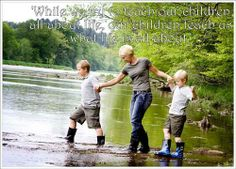 """""""While we try to teach our children all about life, our children teach us what life is all about."""""""