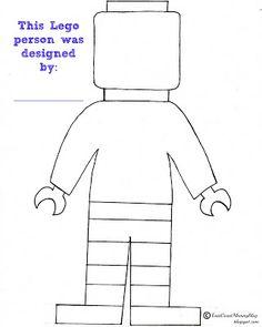 Design your Own Lego Person... FREE PRINTABLE