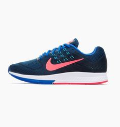 premium selection a44b3 561b6 Nike Air Zoom Structure 18 Running Shoe 683731-400 Sz US M 9.5 UK 8.5 EUR  43 for sale online   eBay