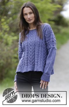 1c4ba761aa0dd4 Autumn Brume   DROPS Extra 0-1152 - Free knitting patterns by DROPS Design