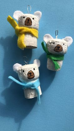 Such an easy Polar Bear Ornament craft! Start saving corks now and make a little cork decorating production line later in the year! You simply HAVE to see the Ugly Sweater Polar Bear too ! Soooo cute. Check it out today!