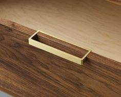Pull detail by Alice Tacheny Design. #furniture #design drawer detail