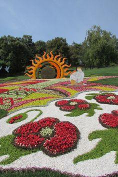 """Ukraine single""Flower-show 2014, Kyiv, Ukraine"