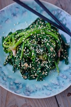 Day 19: Japanese sesame spinach
