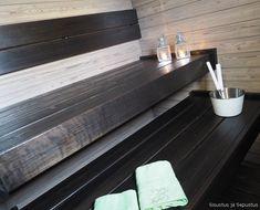 Sauna Design, Home Spa, Olympus, Digital Camera, House, Country, Bathroom, Home Decor, Black
