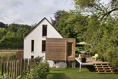 In beeld: woning met houtskeletbouw die enorm weinig verbruikt - Ikgabouwen.be