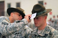 For citizens making the leap from civilian life into military service by way of the Army, one symbol of excellence stands above all and exemplifies all of the qualities those future Soldiers desire to acquire- the drill sergeant. For aspiring drill sergeant candidates at the United States Army Drill Sergeant School at Fort Jackson, South Carolina, that symbol is the drill sergeant hat.