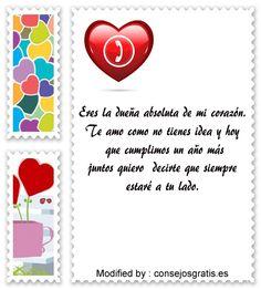 saludos de aniversario,frases de aniversario,buscar frases de aniversario: http://www.consejosgratis.es/frases-de-aniversario-para-mi-novia/