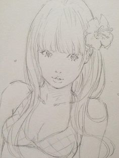 I like this style. Kinda reminds me of Obata | 水着彼女 ③ by Eisakusaku
