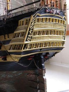 HMS Victory Model Sailing Ships, Model Ships, Trinidad, Model Ship Building, Hms Victory, Tall Ships, Scale Models, Big Ben, Victorious