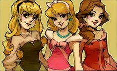 Princesses - disney-princess Fan Art