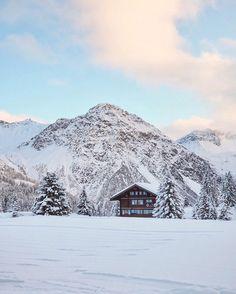 Arosa, Switzerland Winter Travel, Switzerland, Cabin, House Styles, Outdoor, Home Decor, Arosa, Outdoors, Cabins