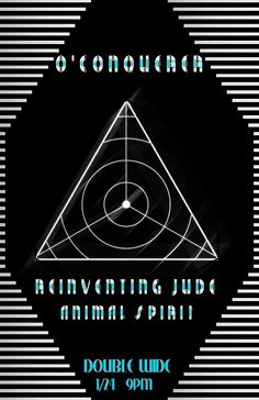 January 24, 2015 @ Double Wide - King Camel Productions presents O'Conqueror | Reinventing Jude | Animal Spirit
