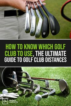 Looking to bring your game to the next level? Here's The Ultimate Guide to Golf Club Distances to help improve your score. Golf Score, Golf Exercises, Workouts, Golf Instruction, Golf Tips For Beginners, Golf Putting, Golf Training, Golf Lessons, Ladies Golf