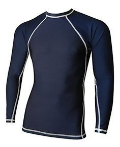 Amazon.com: Rash Guard For Men Compression & Base Layer Shirt: Sports & Outdoors