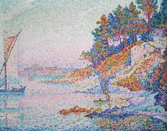 Fan account of Paul Signac, a French Neo-Impressionist painter who, working with Georges Seurat, helped develop the Pointillist style. Paul Signac, Paul Gauguin, Georges Seurat, Van Gogh, French Artists, Oil Painting On Canvas, Abstract Paintings, Abstract Art, Art Auction