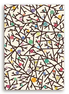 Twigs & Berries wrapping paper - http://wrap.bigcartel.com/product/twigs-berries-wrapping-paper-by-colourbox-3-x-sheets