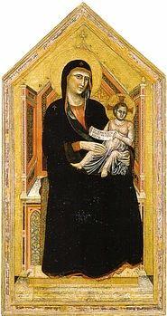 La Maestà è un dipinto a tempera e oro su tavola (185x97 cm) del Maestro della Santa Cecilia, databile al 1320-1325 circa e conservato nella Galleria dell'Accademia a Firenze.