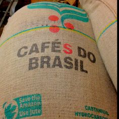 Born in Brazil. Roasted in Mississippi. Freshest coffee ever!