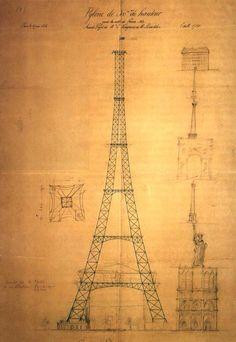 Réhabilitons Stephen Sauvestre l'architecte de la tour #Eiffel qui transforma l'esquisse d'ingénieurs en chef-d'œuvre