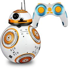 nice Star Wars RC BB-8 Robot Star Wars 2.4G remote control BB8 robot intelligent small ball Action Figure Toys Christmas Gift