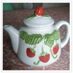 Strawberry Teapot!