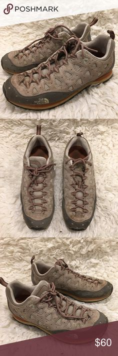 North Face Trail Shoes North Face trail hiking, running or walking shoes. EUC women's size 8.5 The North Face Shoes