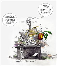Is a messy desk the sign of a messy or a creative mind?