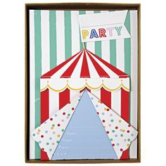 carte anniversaire cirque du soleil