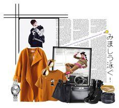 """Where she went"" by icecreamawesomeness ❤ liked on Polyvore featuring Hermès, yeswalker, ABS by Allen Schwartz, Nixon and Diane Von Furstenberg"