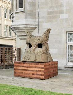 Thomas Houseago's 'Large Owl (For B)'