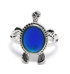 Mood ring: colour and temp change  Gorgeous gifts! http://www.happiesttomato.co.uk/  #gift #birthday #present #jewellery #homedecor