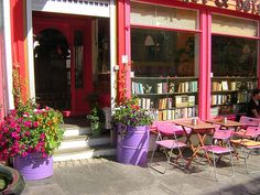 bookstore and cafe...