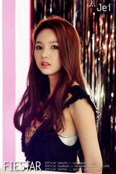 Name: Jinhee Kim Stagename: Jei Member of: Fiestar Birthdate: 05.09.1989