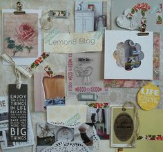 bywmoodboard by babsigirlnl,  #bywbootcamp. Always finding bits and pieces of adorable tags, items, etc. I just need to put them all on a page.