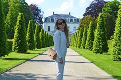 White Mango look - Anderne sunglasses - Jimmy Choo shoes - Chanel bag - www.thefashionpanda.be