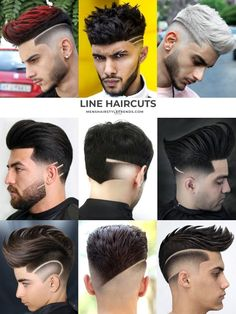 9 fresh ways to add a line to your haircut Edgy Haircuts, Cool Mens Haircuts, Trending Haircuts, Hairstyles Haircuts, Hard Part Haircut, Side Part Haircut, Fade Haircut, Popular Mens Hairstyles, Cool Hairstyles For Men