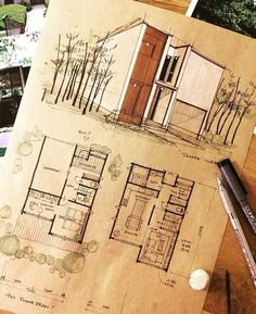 Home Decoration For Birthday Party Info: 8574258871 Architecture Drawing Sketchbooks, Architecture Concept Drawings, Architecture Magazines, Architecture Student, Amazing Architecture, Art And Architecture, Interior Design Sketches, Sketch Design, Sketches Arquitectura