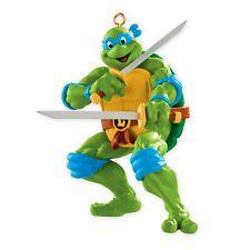 Carlton Heirloom Ornament 2013 Leonardo Teenage Mutant Ninja Turtles CXOR074D