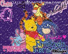 best friends Whinnie The Pooh Drawings, Winne The Pooh, Cute Winnie The Pooh, Winnie The Pooh Quotes, Winnie The Pooh Friends, Disney Magic, Disney Art, Disney Stuff, Walt Disney